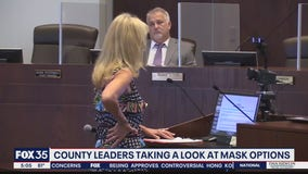 Volusia County leaders consider mask options