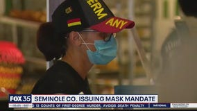 Seminole County issuing mask mandate