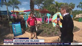 Water park Adventure Island in Tampa reopens