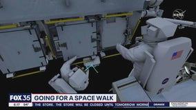 Astronauts to participate in spacewalk
