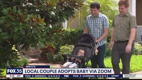Local couple adopts baby over Zoom