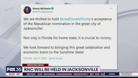 RNC will be held in Jacksonville