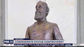 Protests over statue relocation to Lake County