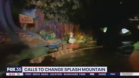 Calls to change Splash Mountain at Magic Kingdom