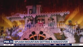 Splash Mountain getting a makeover
