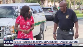 Sheriff's Office training deputies for tense situations