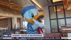 Disney hotels reopening