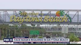 Face masks required in Daytona Beach