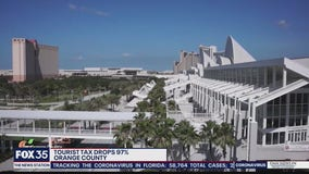 Orange County tourist tax revenue tanks