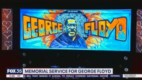 Memorial service for George Floyd
