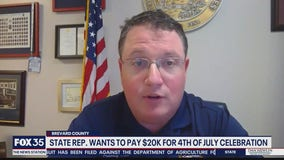 Florida lawmaker wants to pay for Fourth of July celebration