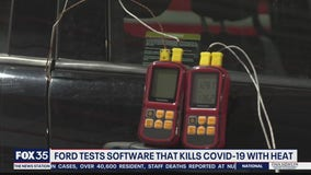 Ford tests software that kills COVID-19 with heat