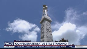 Ocala leaders discuss future of Confederate monument