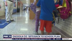 Osceola County releases back to school plan