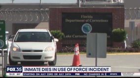 Inmate dies after use of force incident