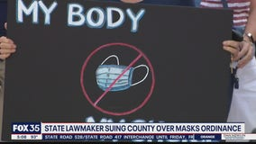 Lawmaker suing county over mask mandate
