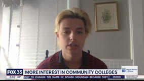 Interest growing in community colleges during pandemic