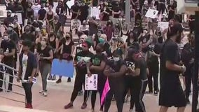 Protests across Central Florida over the weekend remain peaceful