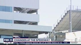 Safety changes at Daytona International Speedway