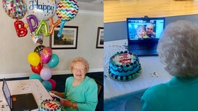 Central Florida woman celebrated 109th birthday at retirement community via Zoom call