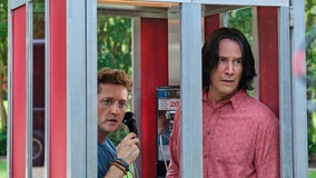 Keanu Reeves and Alex Winter party on into the future in new 'Bill & Ted Face the Music' trailer