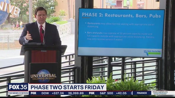 Florida to begin Phase 2 or reopening