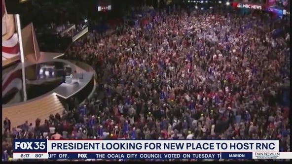 President Trump wants to relocate Republican National Convention