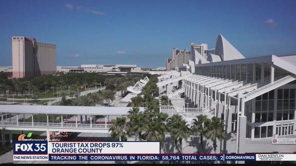 Orange County tourist tax revenue tanks