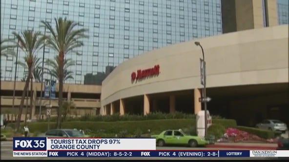 Tourist tax drops 97 percent in Orange County