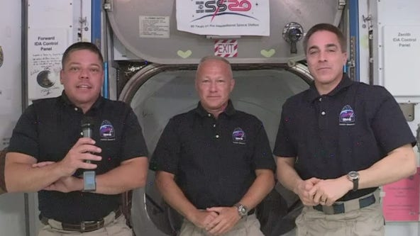 Astronauts gave update on SpaceX Demo-2 mission from International Space Station