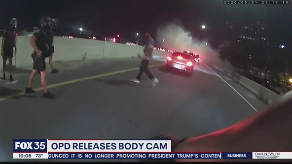 OPD releases body camera footage of encounters with protesters