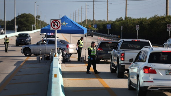 Checkpoints keeping out tourists come down in Florida Keys
