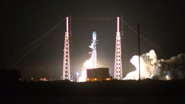 SpaceX aborts Sunday night launch; next attempt Monday night