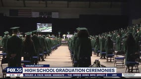 High school graduation ceremonies held in Volusia County