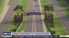 Disney World reopens to annual passholders