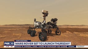 Mars rover set to launch on Thursday