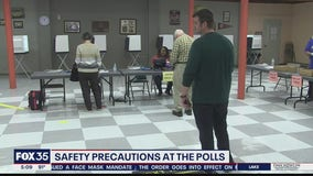 New safety precautions planned for voters