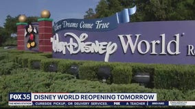Disney World reopens to public on Saturday
