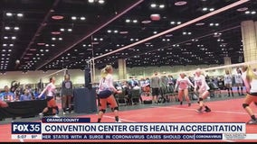 Convention center gets health accreditation