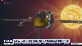 New images from NASA's solar orbiter