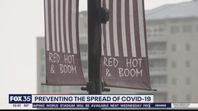 Preventing the spread of COVID-19 on Fourth of July