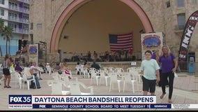 Daytona Bandshell reopens