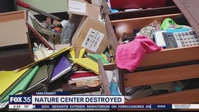 Lake County nature center destroyed