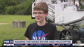 Naming the Mars rover and helicopter