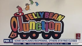 Some daycares reopening, others staying closed