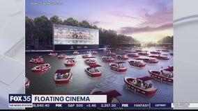 Floating cinema coming to Orlando