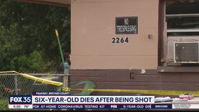 Six-year-old dies after being shot