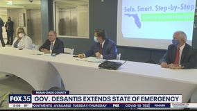 Governor DeSantis extends state of emergency