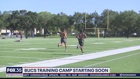 Bucs training camp starting soon
