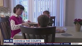 Courts and families impacted by COVID-19
